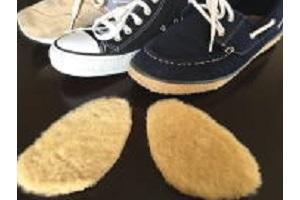 ムートンインソールスニーカー運動靴通勤靴つま先用運動靴タイプの画像