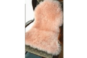 長毛ピンク色ムートンフリースピンク系の写真