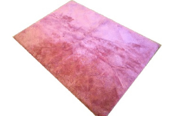 ムートンシーツダブル短毛25ミリローズピンクの画像