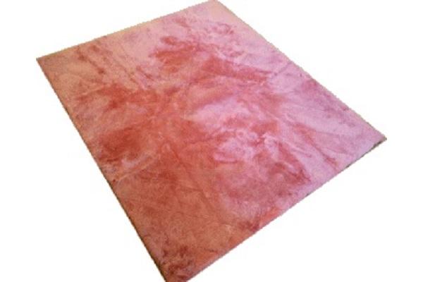ムートンシーツクイーン短毛25ミリローズピンクの画像