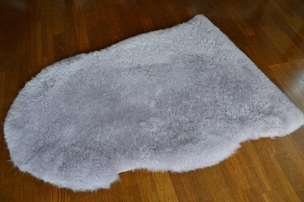 短毛35ミリラベンダー色ムートンフリースラベンダー系の画像